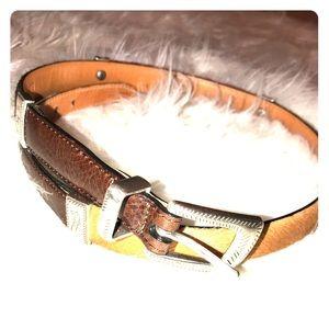 Brighton Accessories - Brighton Horsehair & Leather Belt Q4800